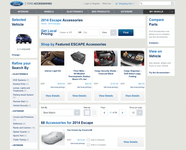Ford on Magento