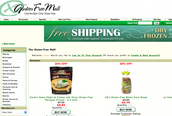 specialty foods ecommerce
