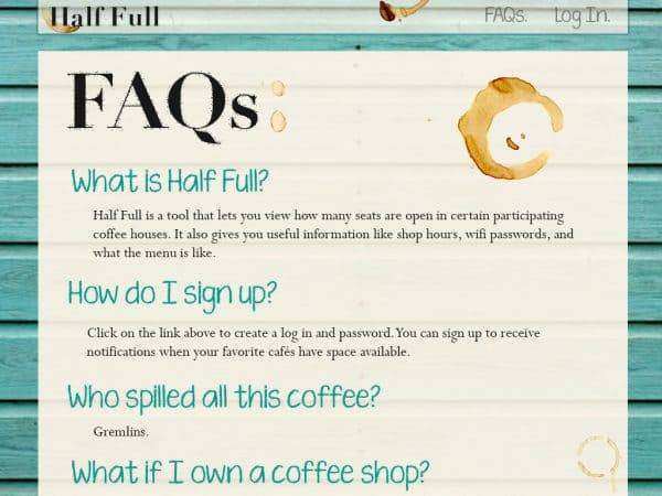about FAQ pages