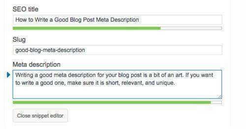 how to write a good meta description