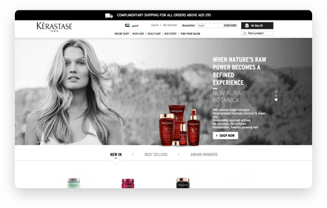 L´Oreal – Kerastase website